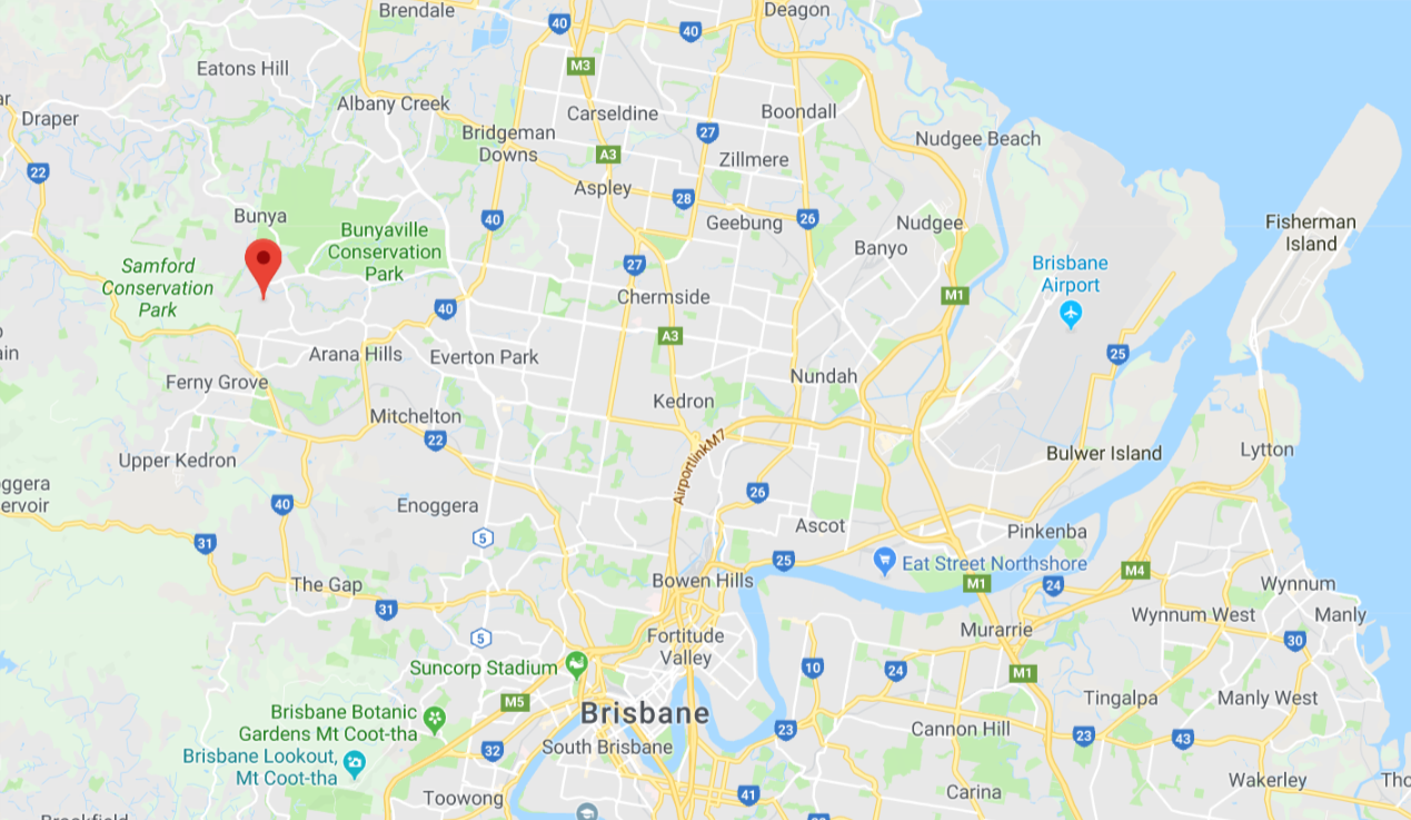 Ferny Hills, Brisbane - Map