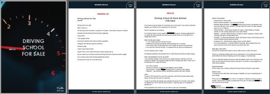 Driving School Copywriting